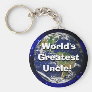 ¡El tío más grande del mundo! Llavero