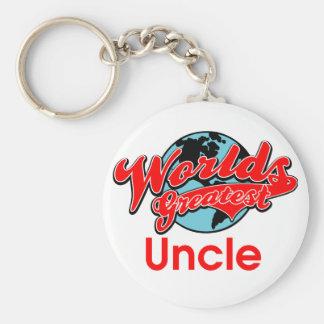 El tío más grande del mundo llavero