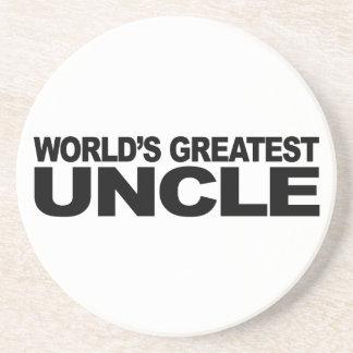 El tío más grande del mundo posavasos manualidades