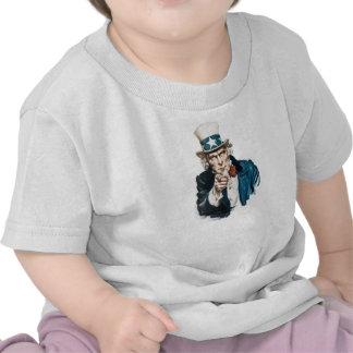 El tío Sam I quisiera que usted modificara para re Camiseta