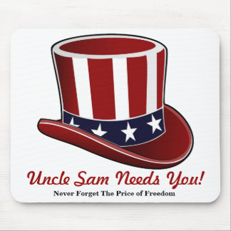 ¡El tío Sam le necesita! Alfombrilla De Ratón