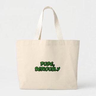 el tipo, refresca seriamente diseño bolsas