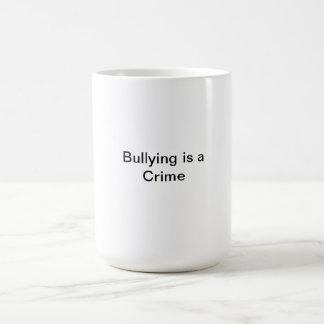 El tiranizar taza básica blanca