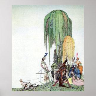El tiro al arco del Czarina de Kay Nielsen Póster