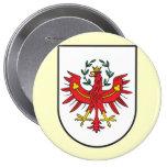 El Tirol Wappen, Austria Pin Redondo 10 Cm