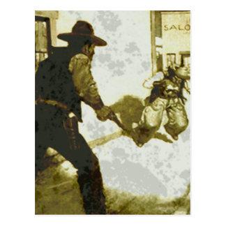 el tiroteo tarjetas postales