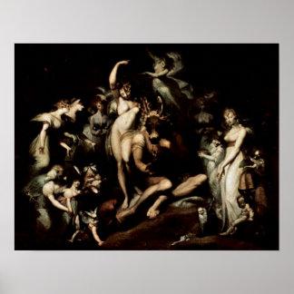 el Titania de hadas de la reina de Henry Fuseli Impresiones