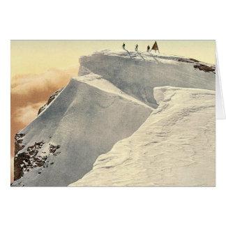 El Titlis Spitze, Unterwald, obra clásica de Suiza Tarjetas