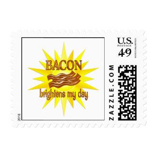 El tocino aclara sellos postales