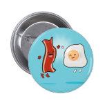 El tocino ama los huevos pin