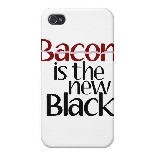 El tocino es el nuevo negro iPhone 4 fundas
