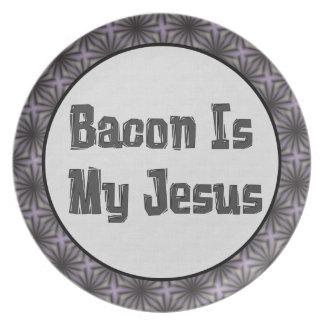 El tocino es mi Jesús Plato Para Fiesta