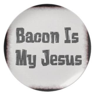 El tocino es mi Jesús Platos