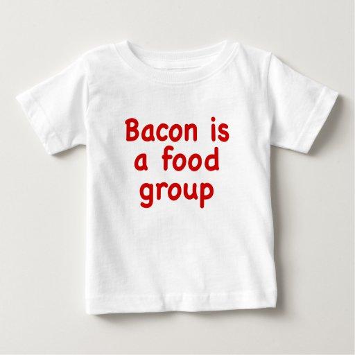 El tocino es un grupo de alimentos t-shirts