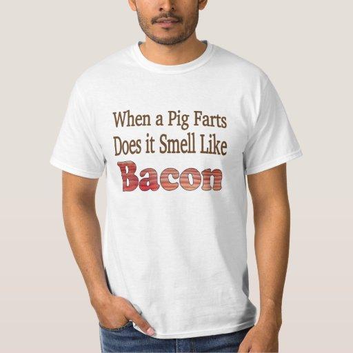 El tocino Fart camiseta