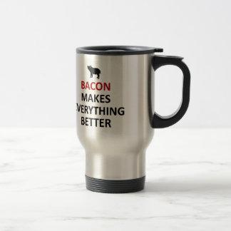 El tocino hace todo mejor tazas de café