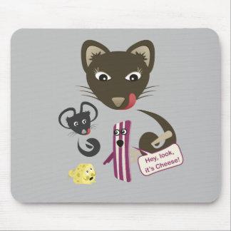 El tocino une amigos y a enemigos alfombrillas de raton