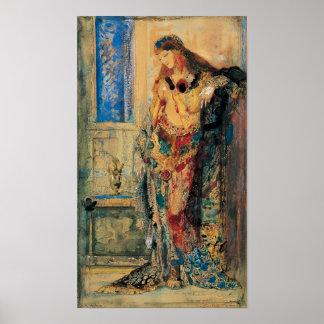 El Toilette de Gustave Moreau Posters