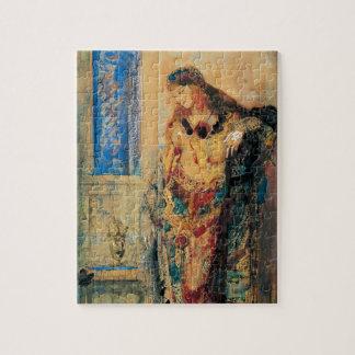 El Toilette de Gustave Moreau Puzzle Con Fotos