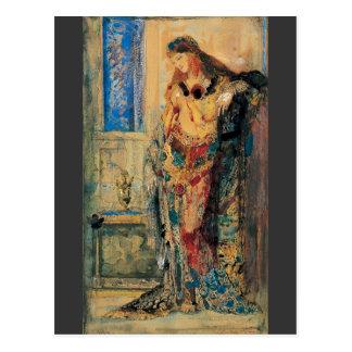 El Toilette de Gustave Moreau Tarjeta Postal
