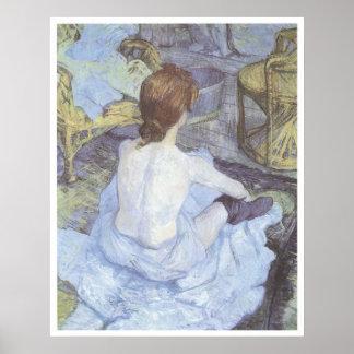 El Toilette, Enrique 1889 De Toulouse-Lautrec Impresiones