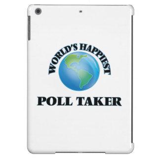 El tomador de la encuesta más feliz del mundo funda para iPad air