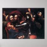 El tomar de Caravaggio de Cristo Poster