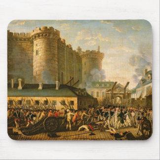 El tomar del Bastille, el 14 de julio de 1789 Alfombrillas De Ratón