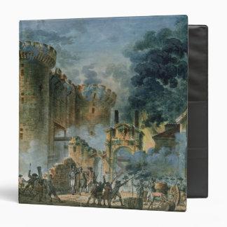 """El tomar del Bastille, el 14 de julio de 1789 Carpeta 1 1/2"""""""