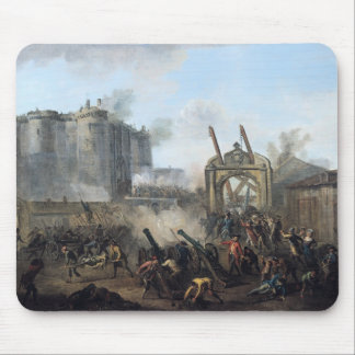 El tomar del Bastille, el 14 de julio de 1789 Mousepads
