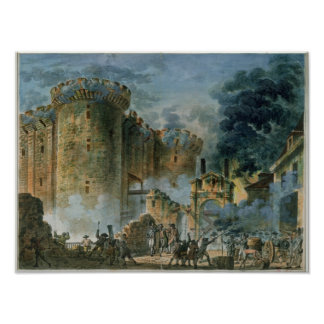 El tomar del Bastille el 14 de julio de 1789 Impresiones