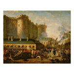 El tomar del Bastille, el 14 de julio de 1789 Posters