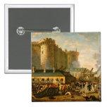 El tomar del Bastille, el 14 de julio de 1789 Pin