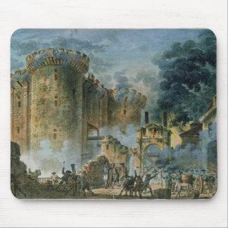 El tomar del Bastille, el 14 de julio de 1789 Tapetes De Raton