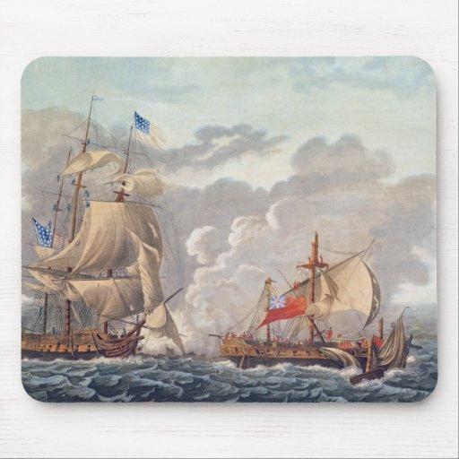 El tomar del buque inglés 'el Java Tapetes De Raton