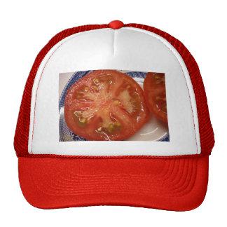 El tomate perfecto de la rebanada gorros