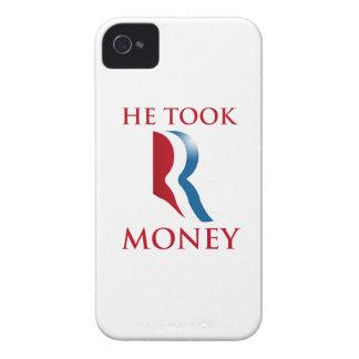 ÉL TOMÓ R MONEY.png Case-Mate iPhone 4 Cobertura