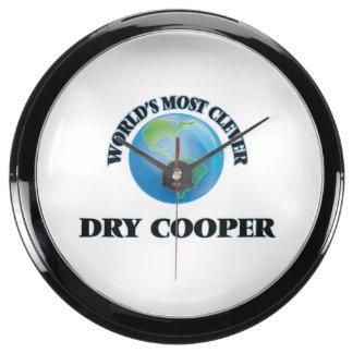 El tonelero seco más listo del mundo reloj aqua clock