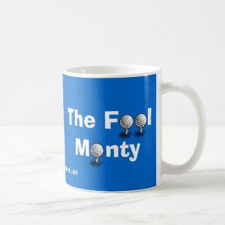 El tonto Monty - Colin Montgomerie Taza De Café