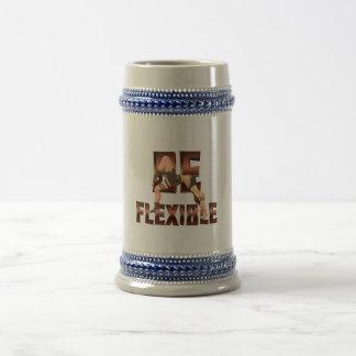 El TOP sea flexible Jarra De Cerveza