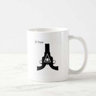 El Topo Classic White Coffee Mug