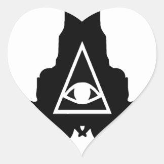 El Topo Heart Sticker