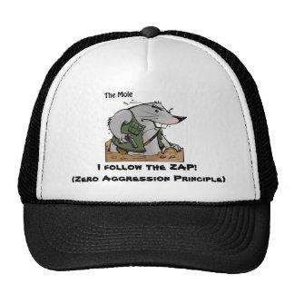 El topo ZAP el gorra
