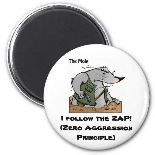 El topo ZAP el imán