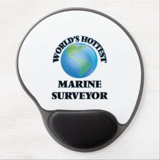 El topógrafo marino más caliente del mundo alfombrillas con gel