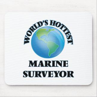 El topógrafo marino más caliente del mundo tapetes de ratón