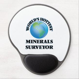 El topógrafo más caliente de los minerales del alfombrilla con gel