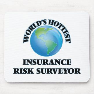 El topógrafo más caliente del riesgo del seguro tapetes de ratones