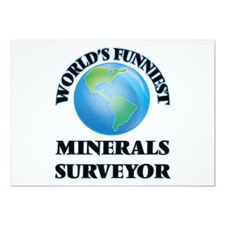 El topógrafo más divertido de los minerales del anuncio personalizado
