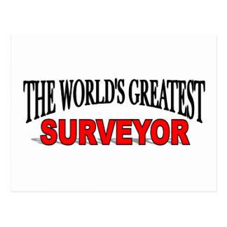 El topógrafo más grande del mundo postales